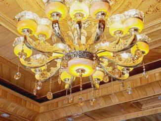 Mẫu trần gỗ Pơ mu tại Thanh Hóa