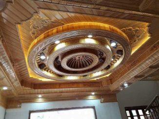 Bàn Giao, nhiệm thu trần gỗ Pơ mu tại Thanh Hóa