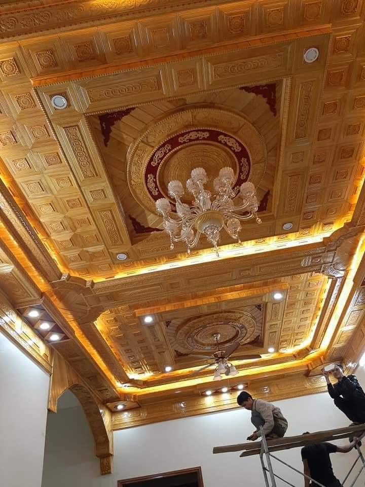 trần gỗ Thái Thụy Thái Bình