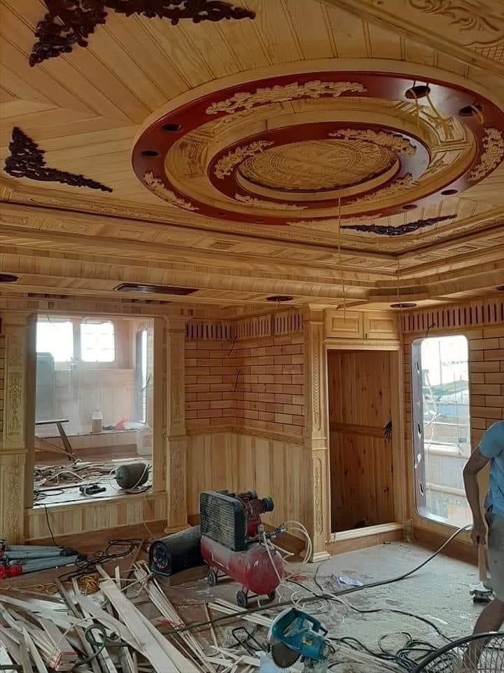 trần gỗ Nam Trực - nam định