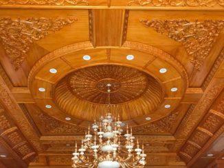 Thi công trần gỗ Đông Hưng tại Thái Bình