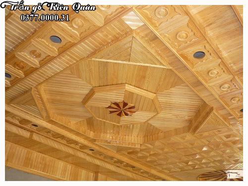 top 5 mẫu trần gỗ đẹp tại Thanh Hóa
