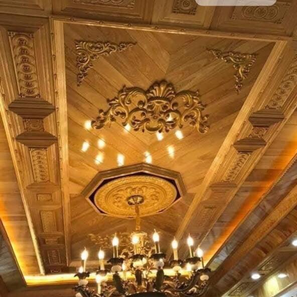 trần gỗ cẩm phả quảng ninh
