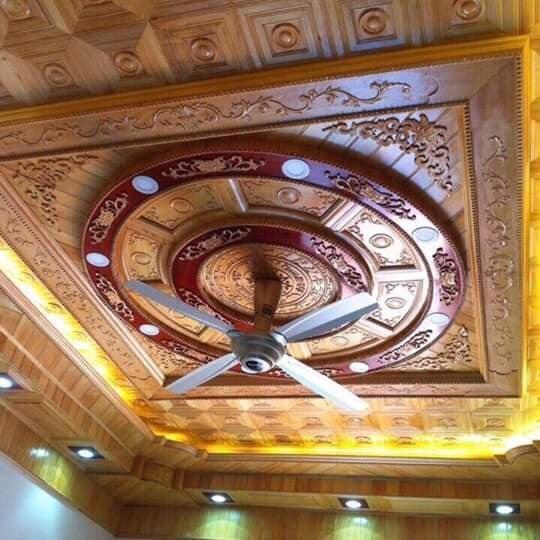 mẫu trần gỗ Quảng Ninh đẹp