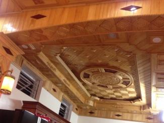 thi công trần gỗ đẹp giá rẻ tại Hải Phòng