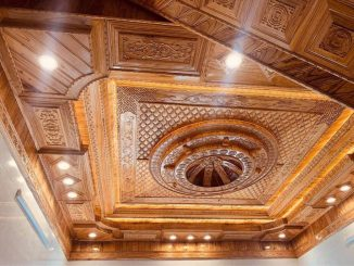 trần gỗ xoan Phú Thọ